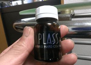 PLASS DANCEガラスコート